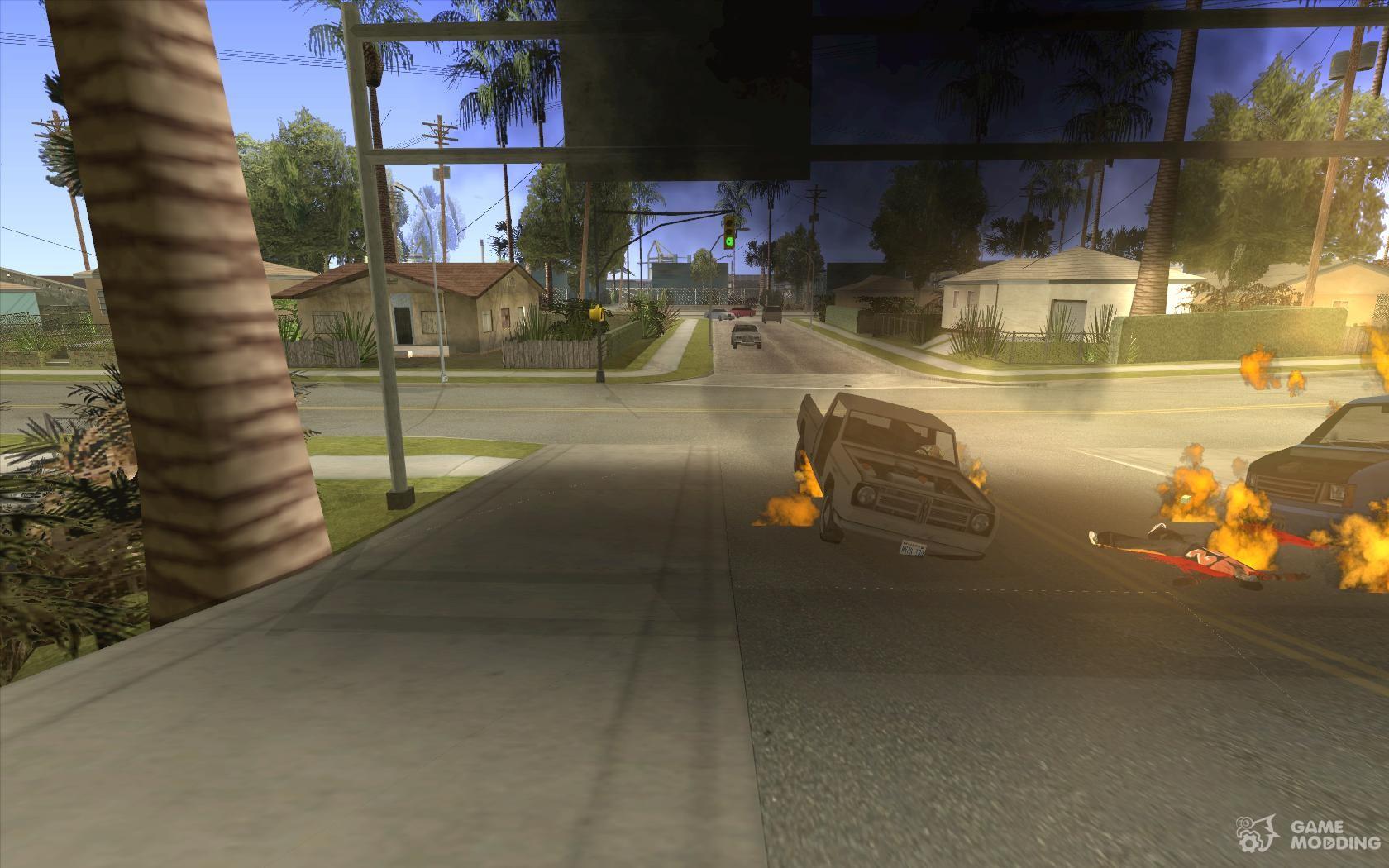 Мод на Реалистичные Повреждения Машин GTA 5