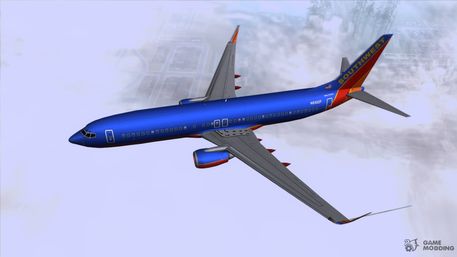 the boeing 737 800 southwest airlines for gta san andreas United Airlines 757 Old United Airlines 737