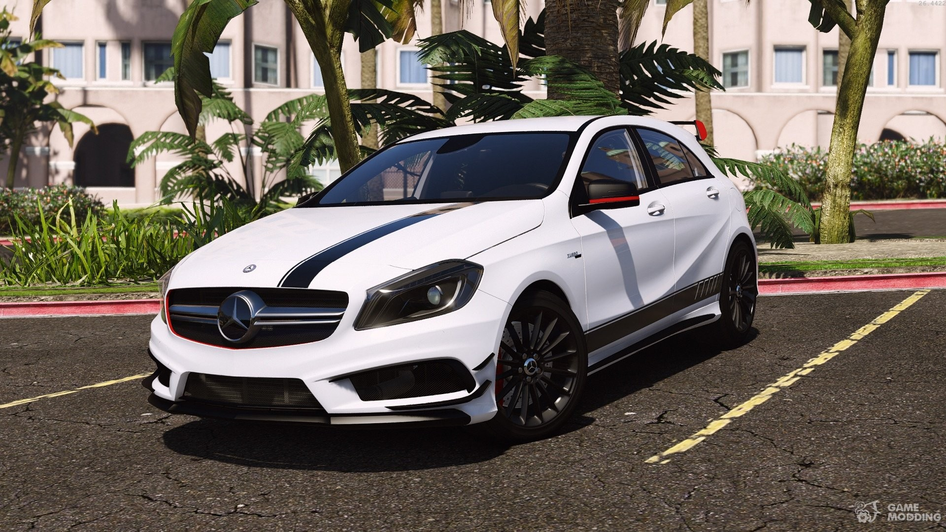 mercedes benz classe a 45 amg edition 1 for gta 5. Black Bedroom Furniture Sets. Home Design Ideas