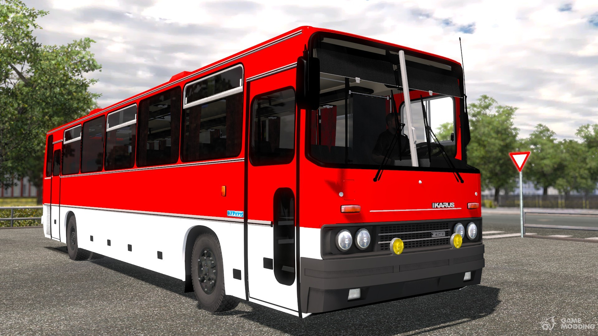 Ikarus 250 for euro truck simulator 2 for Ikarus