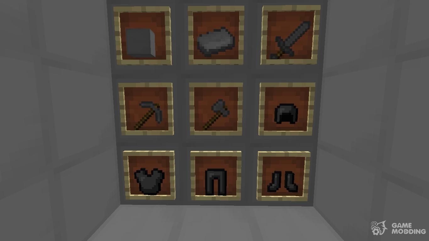 minecraft how to make steel