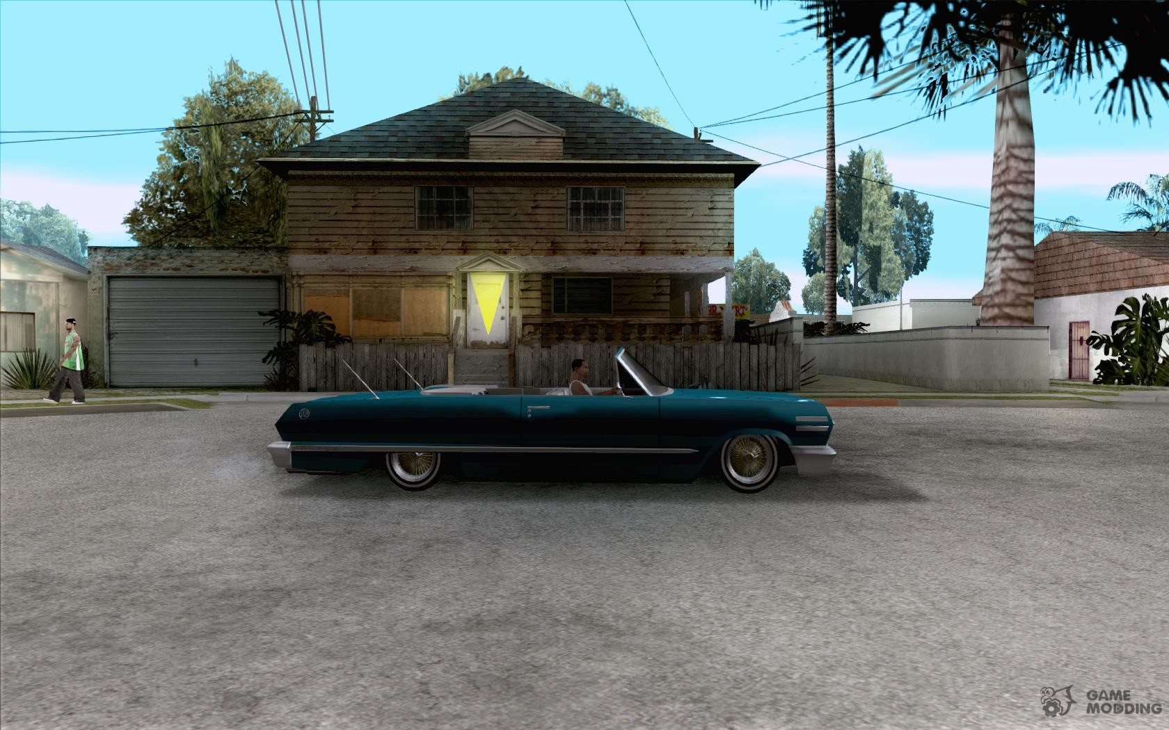 Chevrolet impala 4 door hardtop 1963 for gta san andreas - Chevrolet Impala Hardtop 1963 For Gta San Andreas Inside View