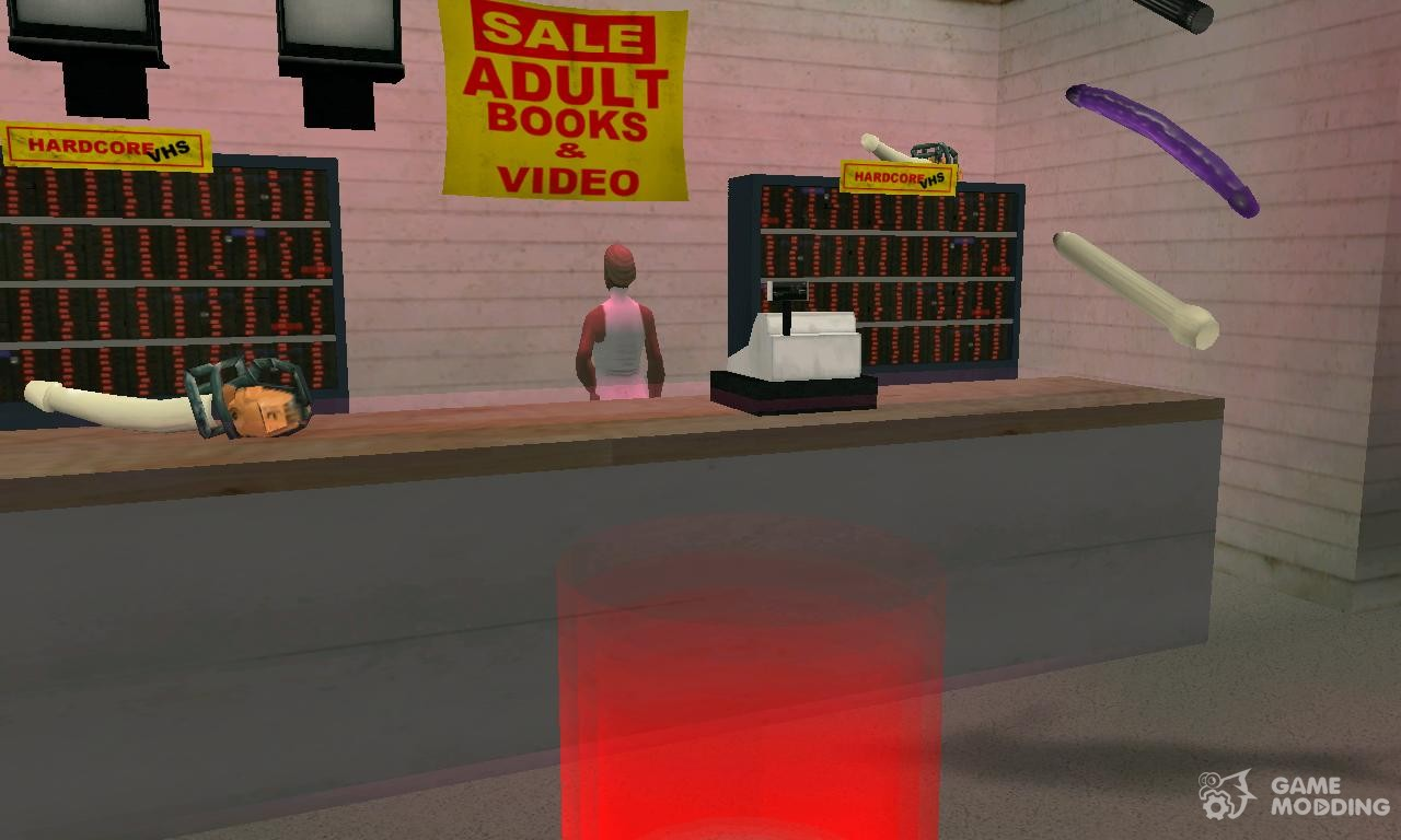 Milian gta sex shop picture