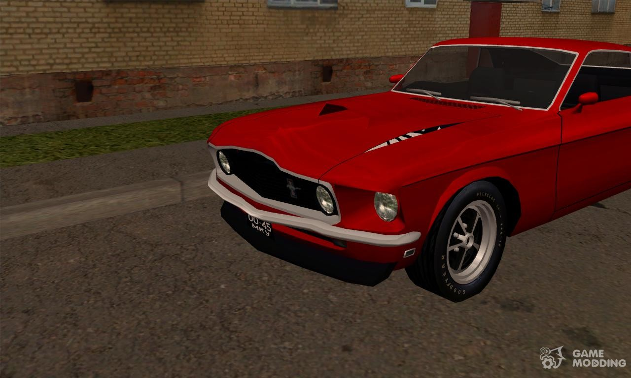 ford mustang boss 429 import version usa to ussr for gta. Black Bedroom Furniture Sets. Home Design Ideas