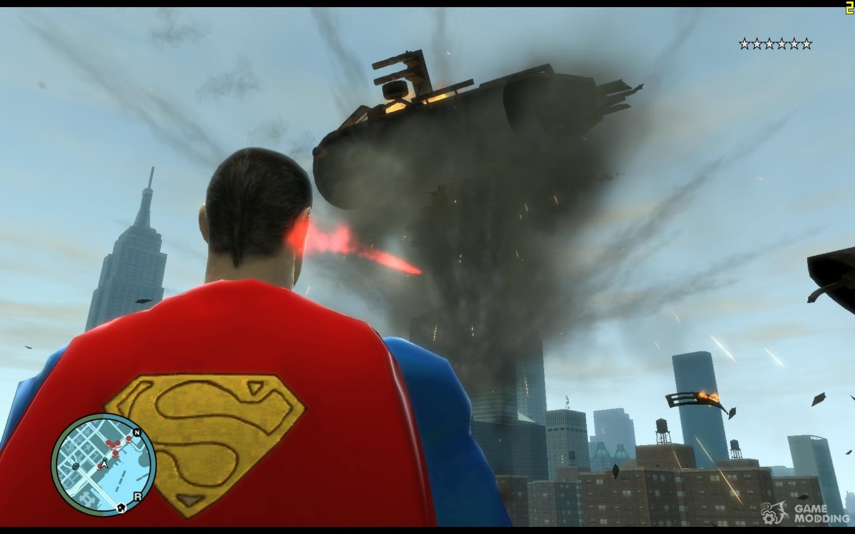 Script For Superman for GTA 4