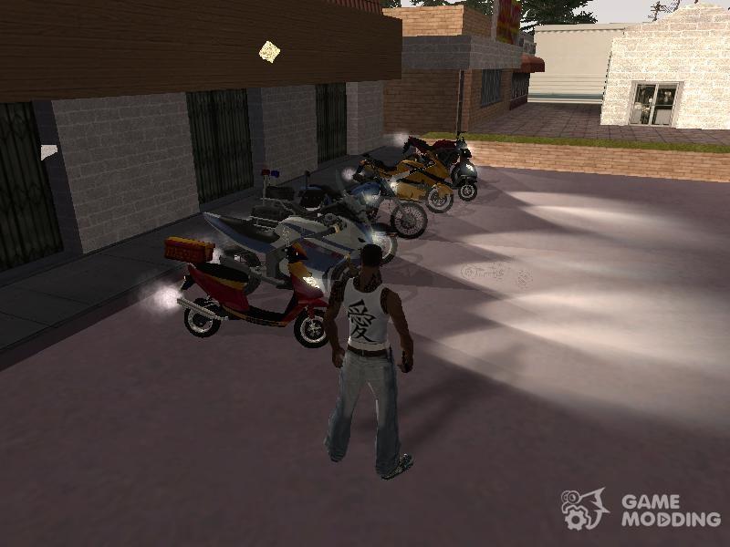 скачать мод на для гта сан андреас на мотоцикл