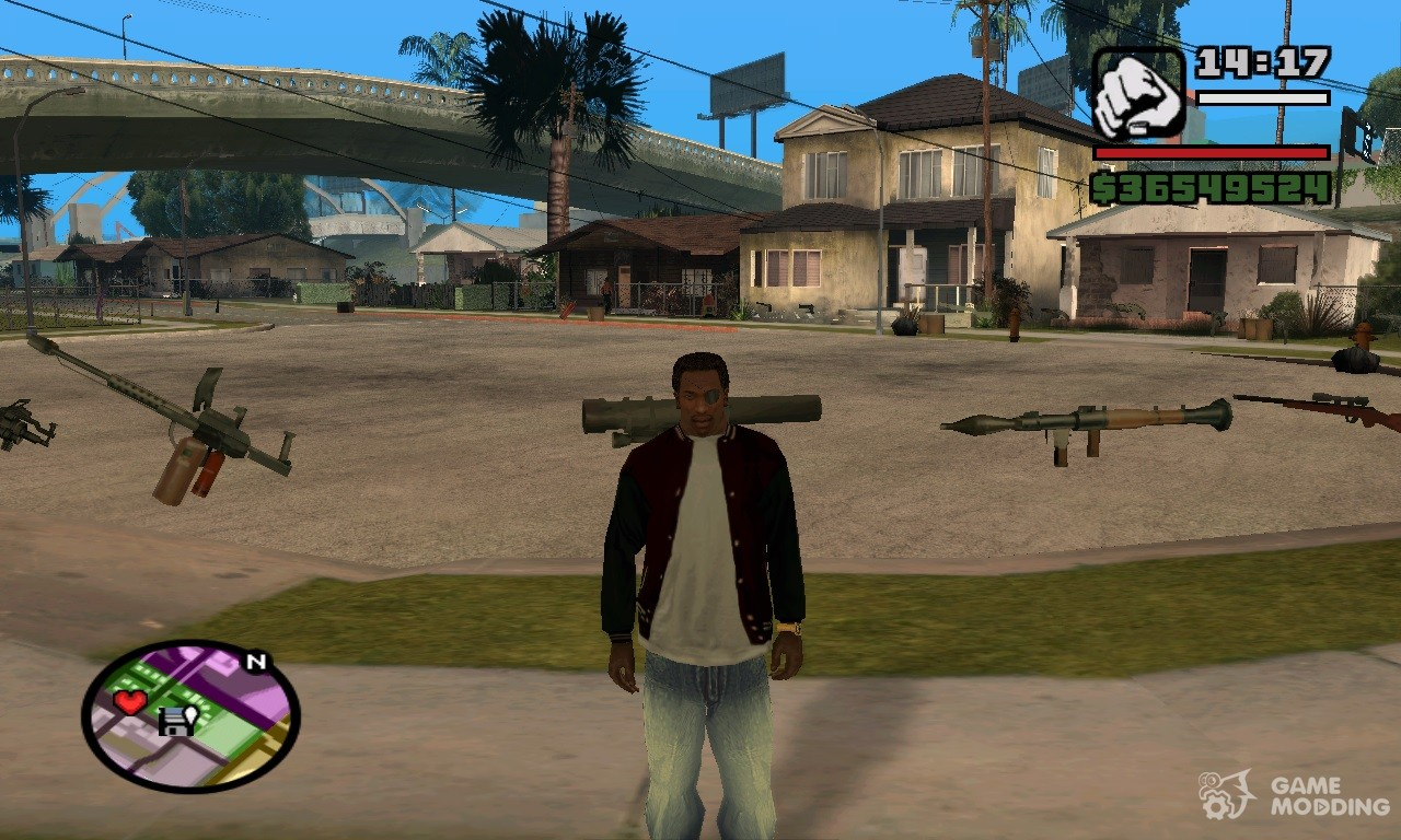 Gta san andreas gta sa android 100% save game (unlimited stutus.