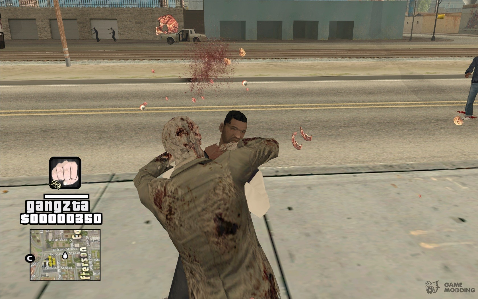 Zombie for gta san andreas.