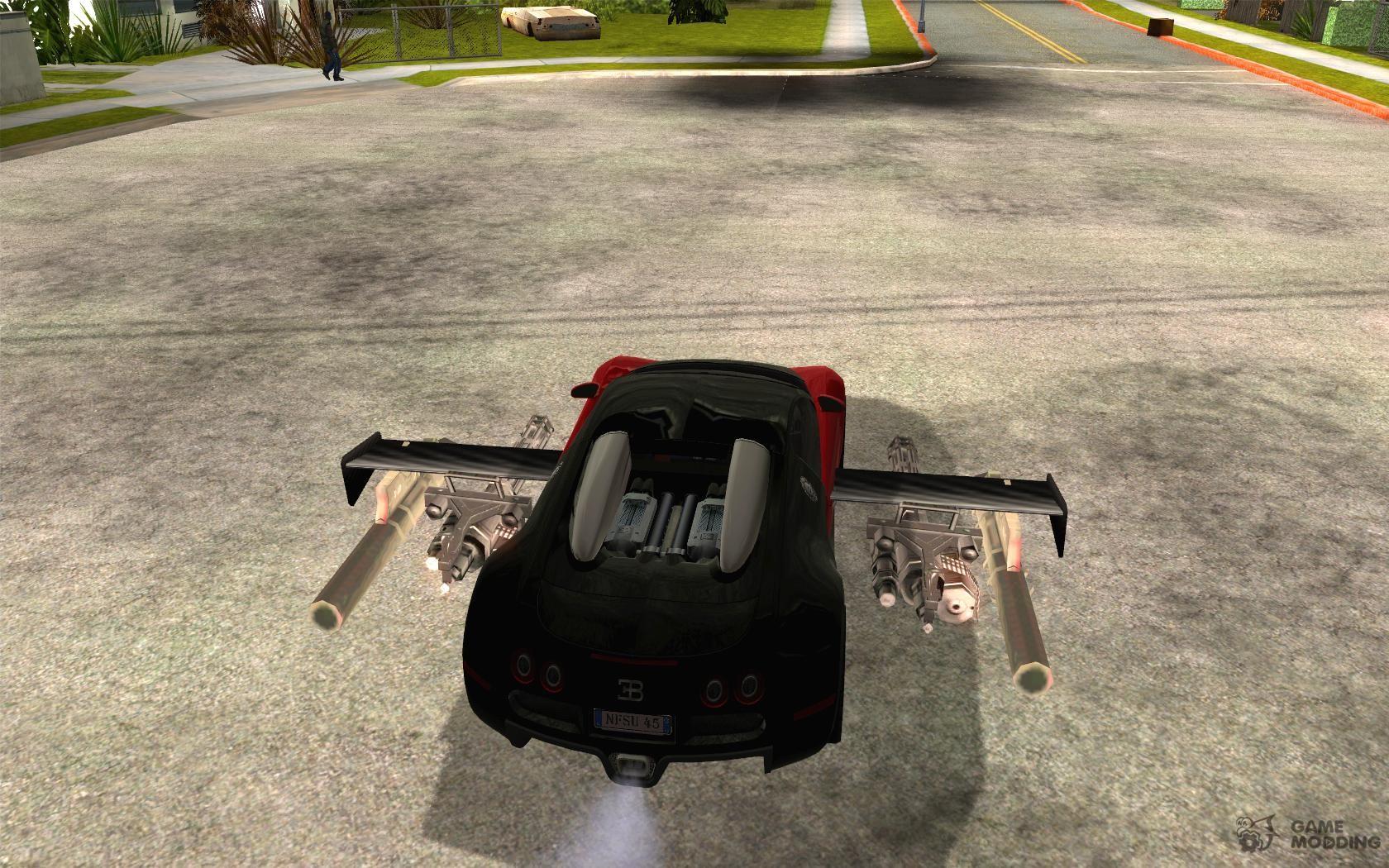 Как сделать машину для гта сан 115