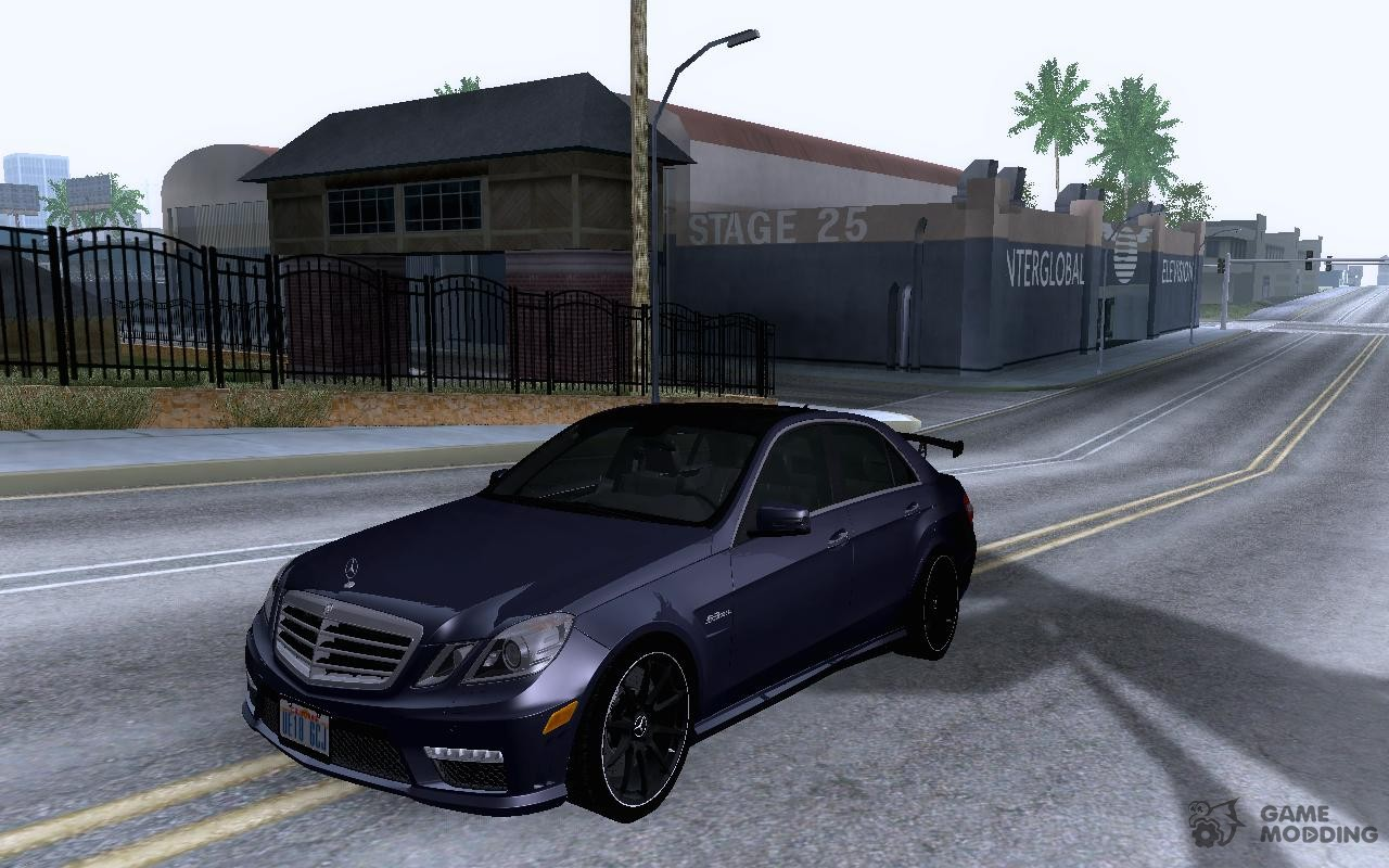 mercedes benz e63 amg black series tune up 2011 for gta. Black Bedroom Furniture Sets. Home Design Ideas