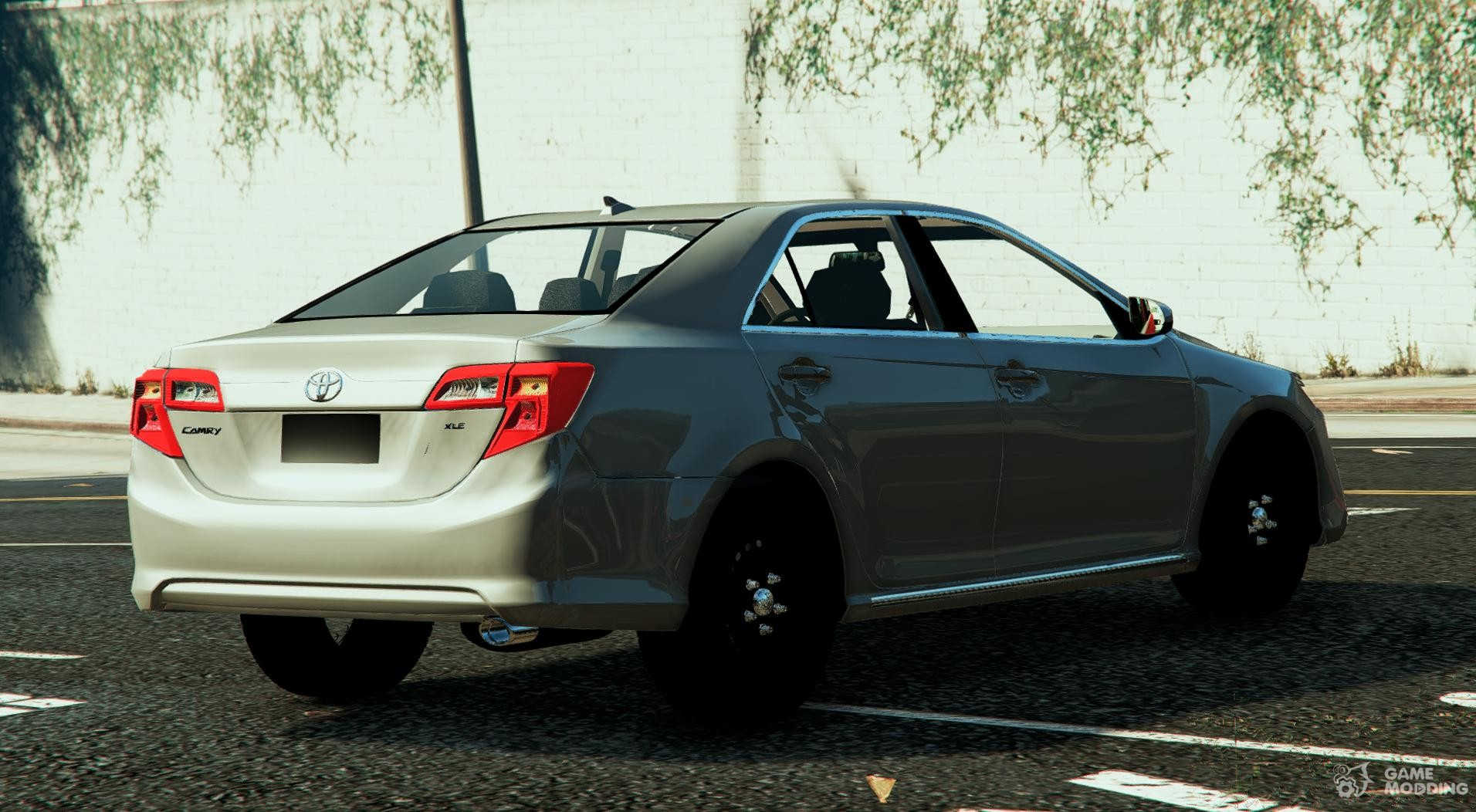 Toyota camry 2013 for gta 5 rear left view