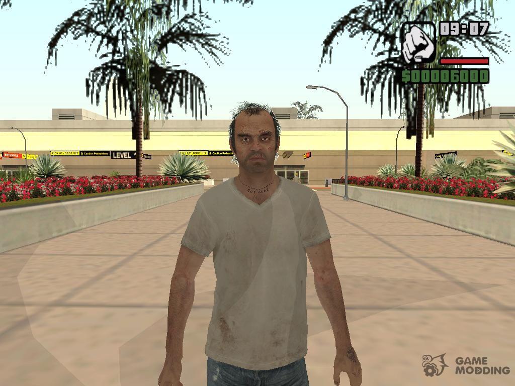 скачать скин майкл для Gta San Andreas - фото 8