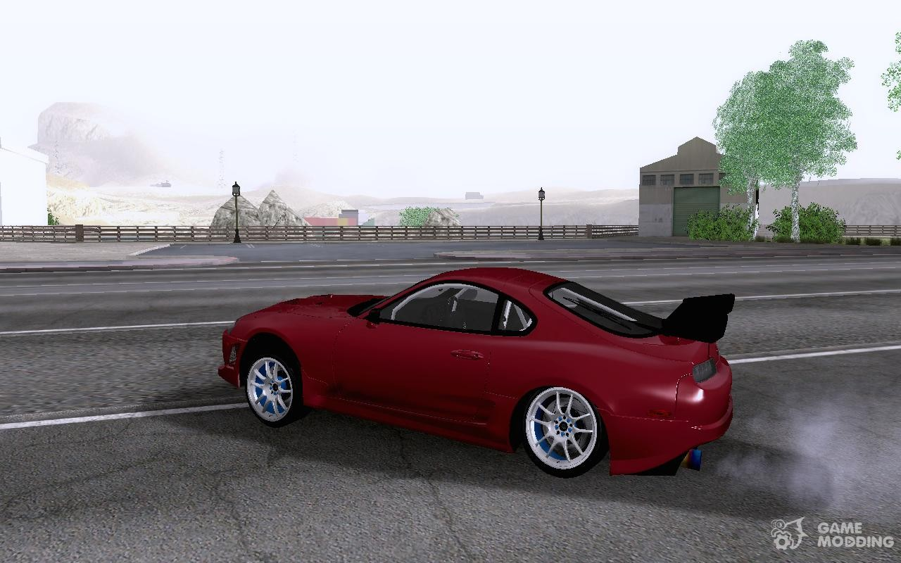 toyota supra rz for gta san andreas. Black Bedroom Furniture Sets. Home Design Ideas