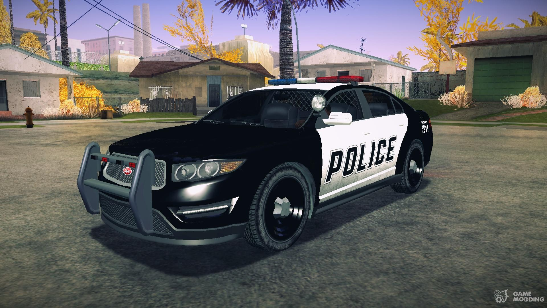 GTA V Vapid Police Interceptor for GTA San Andreas