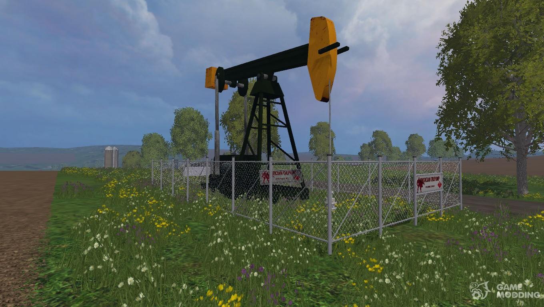 oil rig for farming simulator 2015