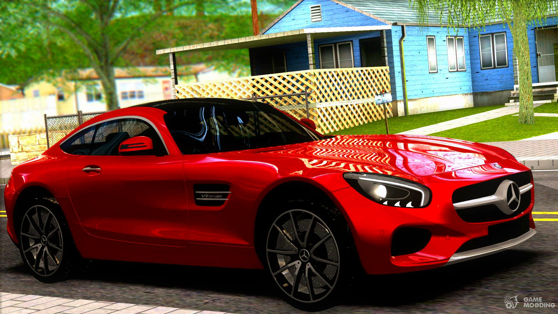 Mercedes benz amg gt for gta san andreas for Mercedes benz gta