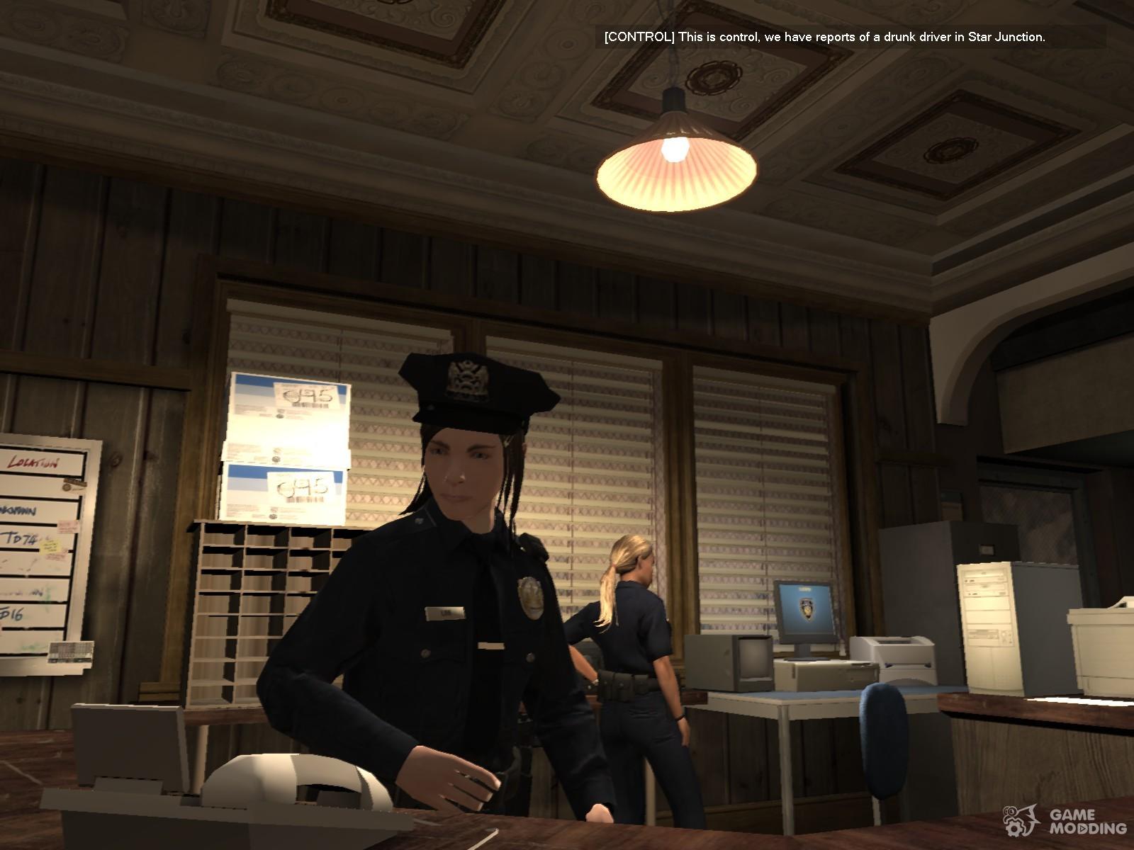 GTA V police woman for GTA 4