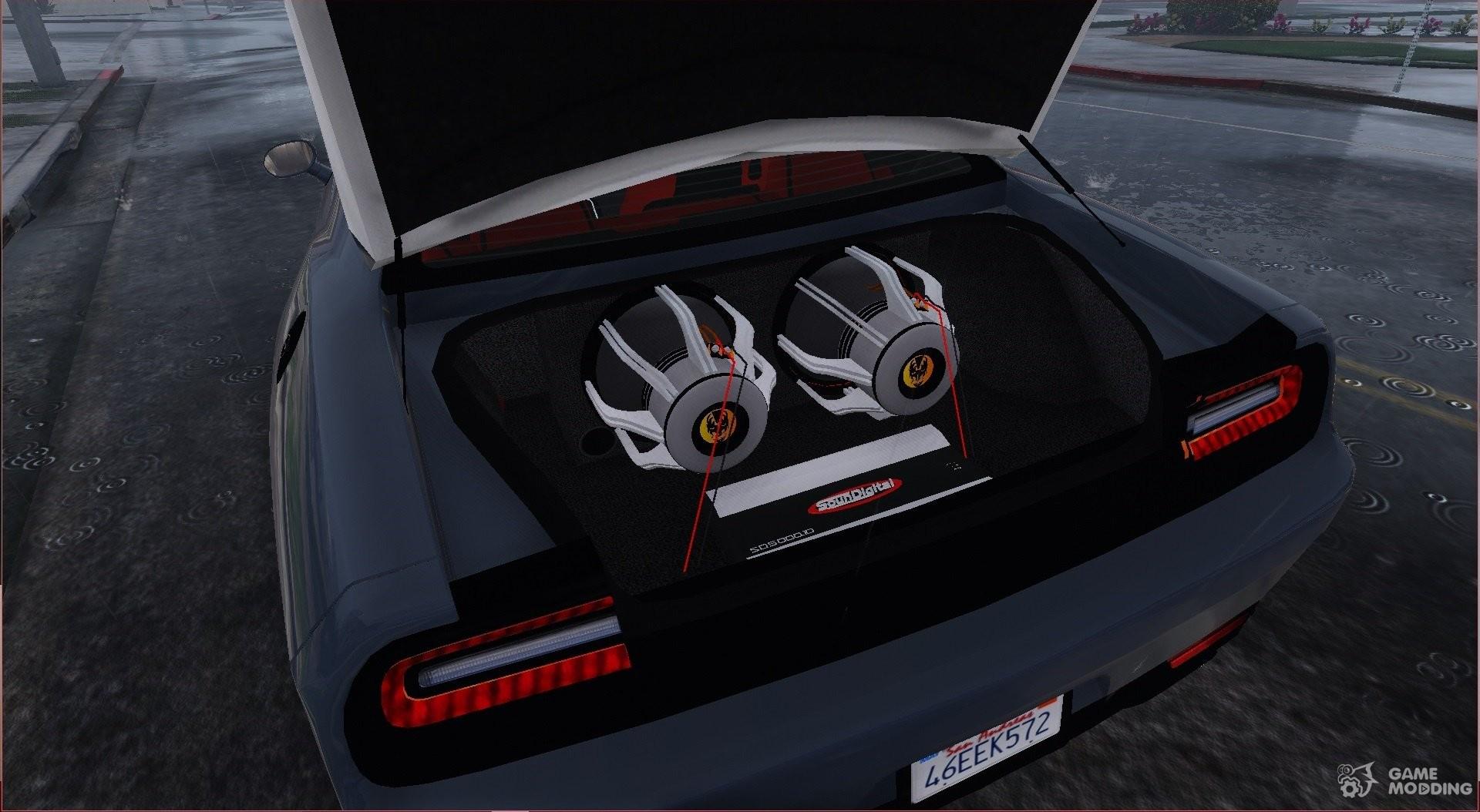 Dodge Challenger Hellcat For Gta 5