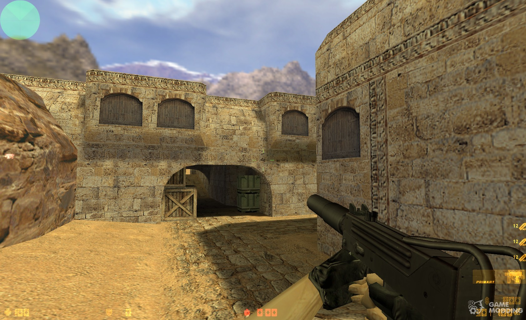 Bullet_Head's Mac10 (silenced) for Counter-Strike 1.6