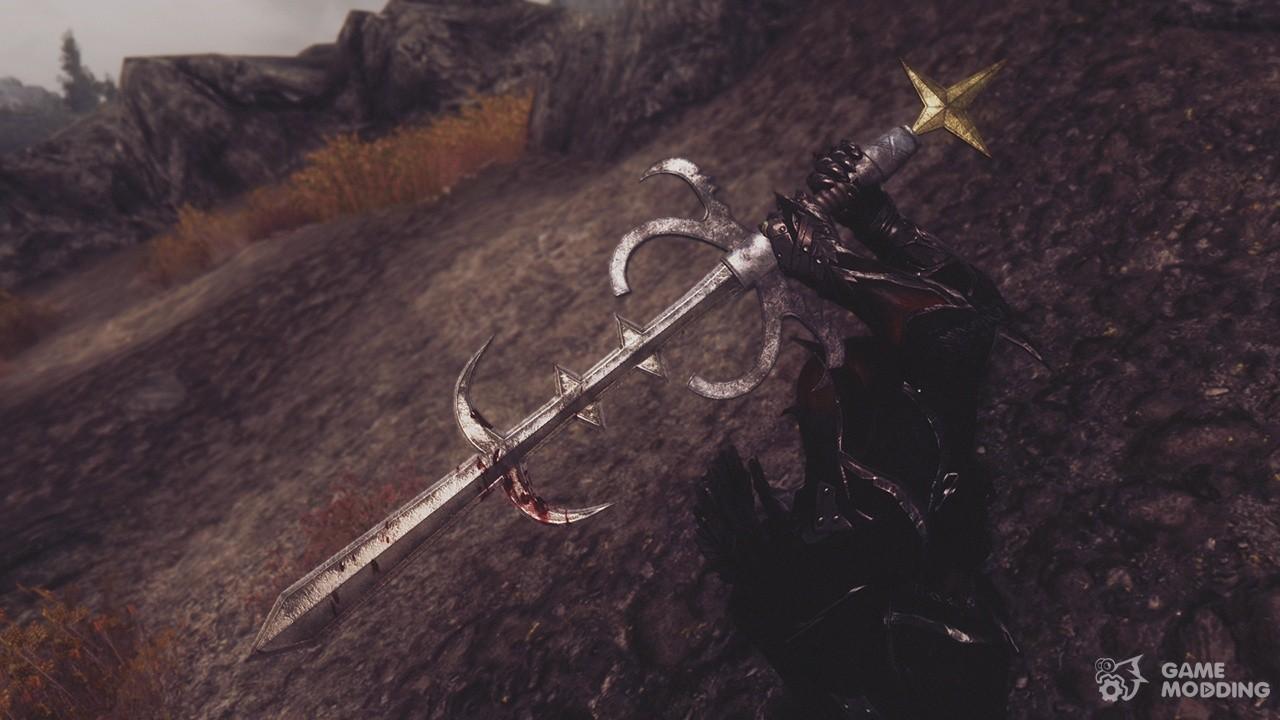Скачать мод на скайрим на меч богов