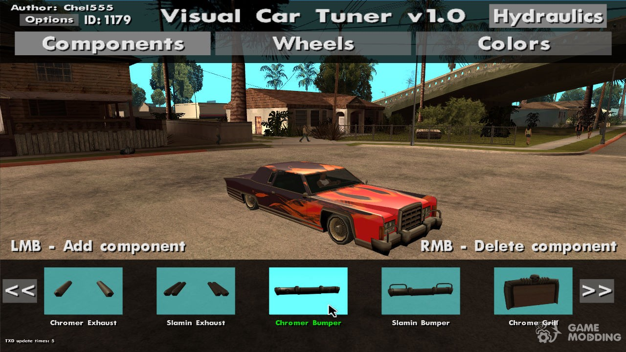 Visual Car Tuner V1 0 For Gta San Andreas