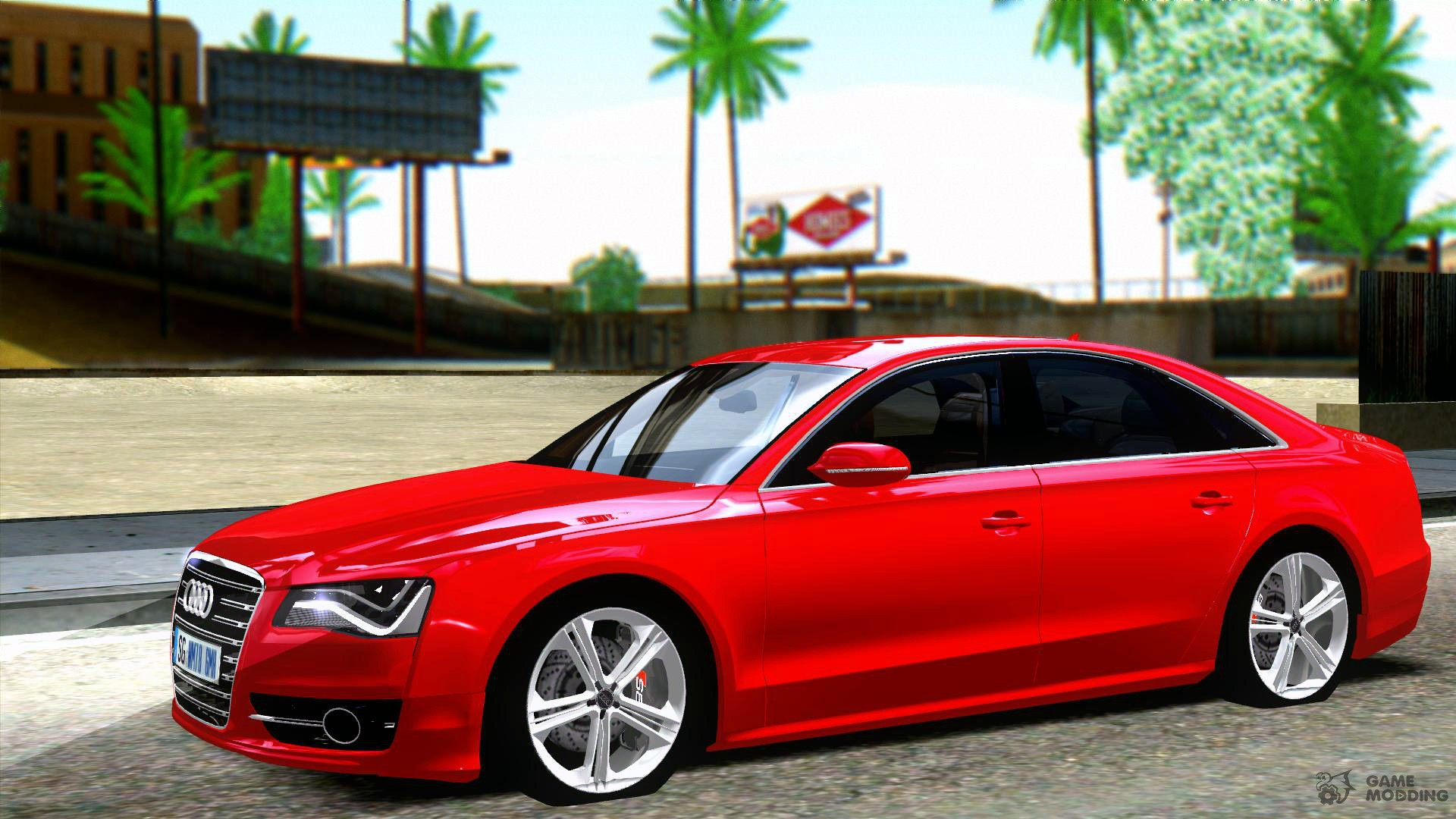 audi s8 2013 for gta san andreas. Black Bedroom Furniture Sets. Home Design Ideas
