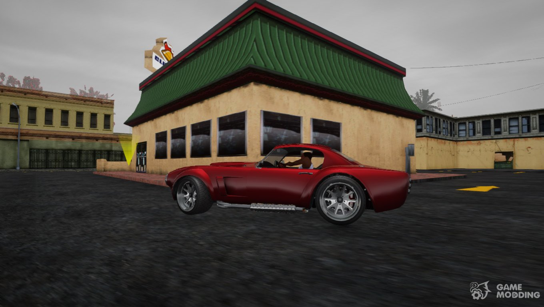 GTA 5 Declasse Mamba for GTA San Andreas
