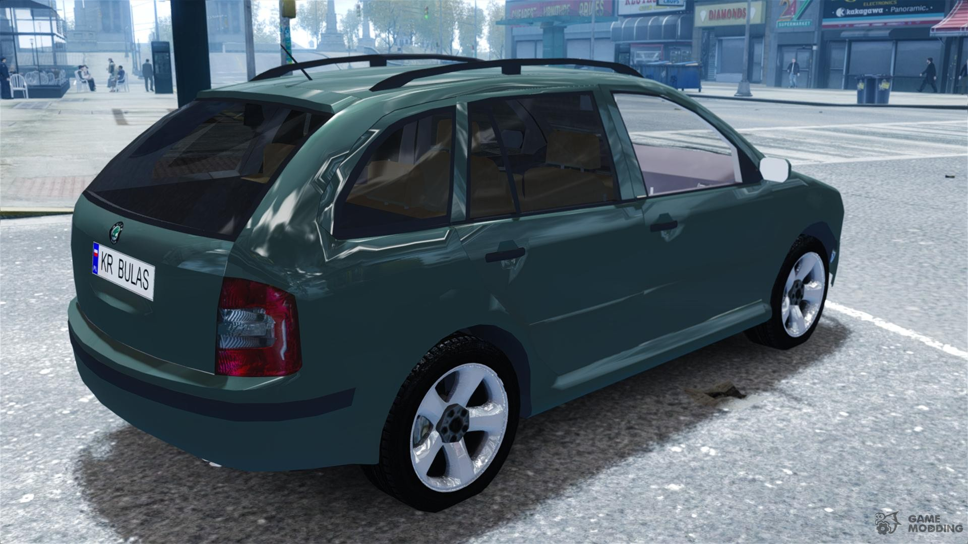 skoda fabia combi for gta 4. Black Bedroom Furniture Sets. Home Design Ideas