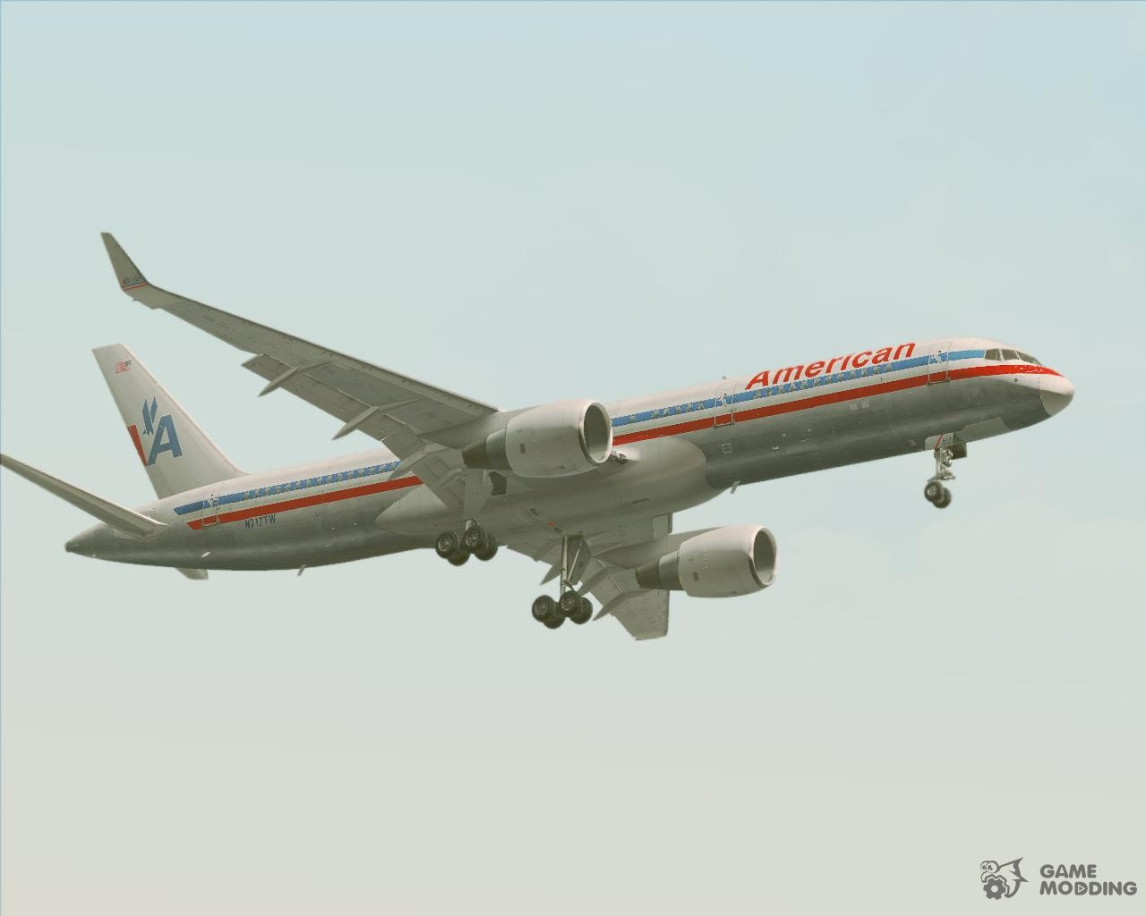 Boeing 757 200 American Airlines For Gta San Andreas