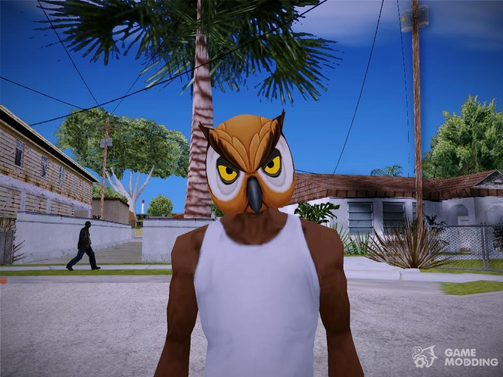 Group of Owl Mask Gta Related