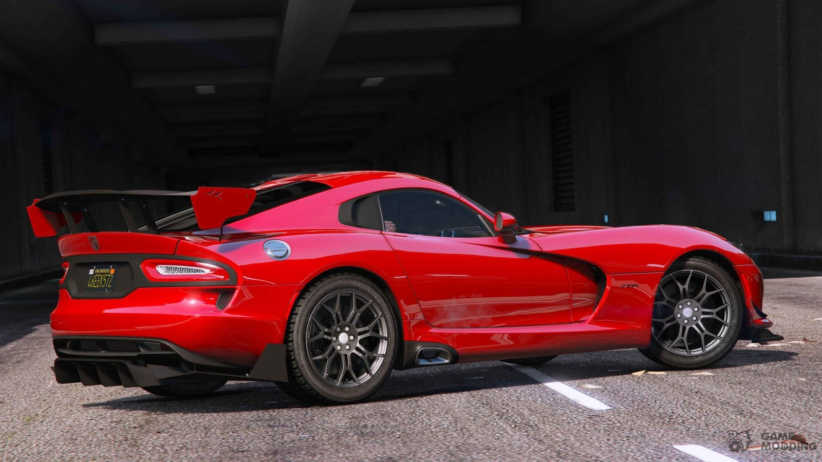 2014 Srt Viper V1 12 For Gta 5