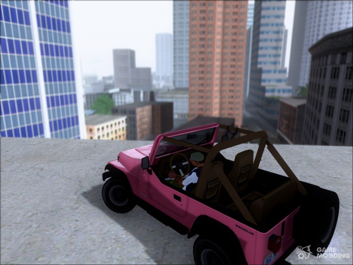 88 Jeep Wrangler from the video game Driver: San Francisco