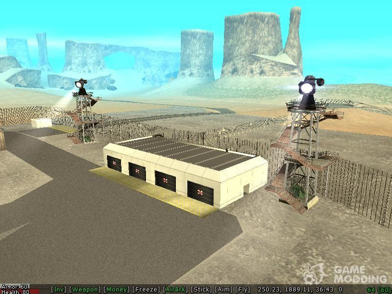 скачать мод на гта сан андреас на военную базу - фото 8