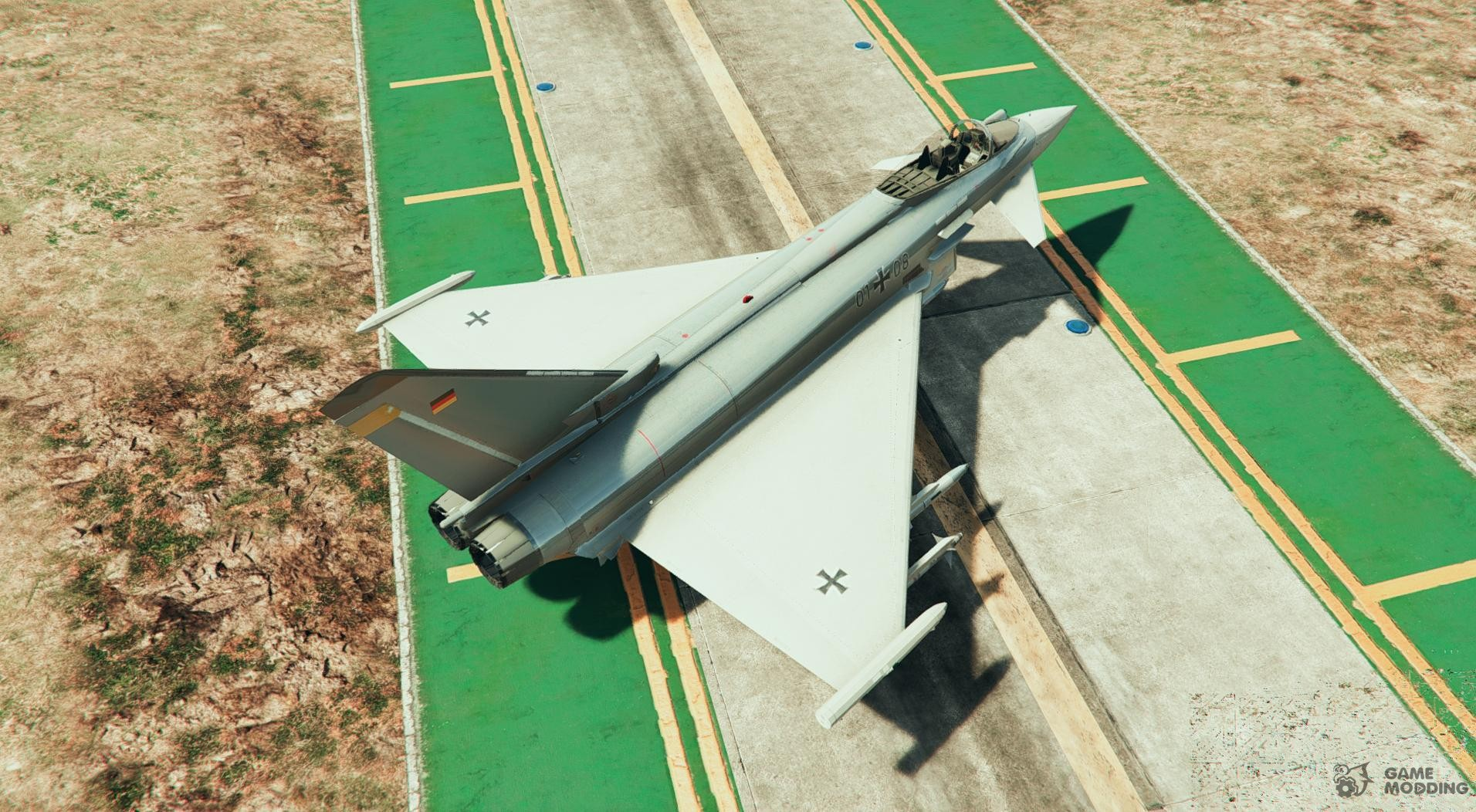 Eurofighter Typhoon Air Force Germany Liveries for GTA 5