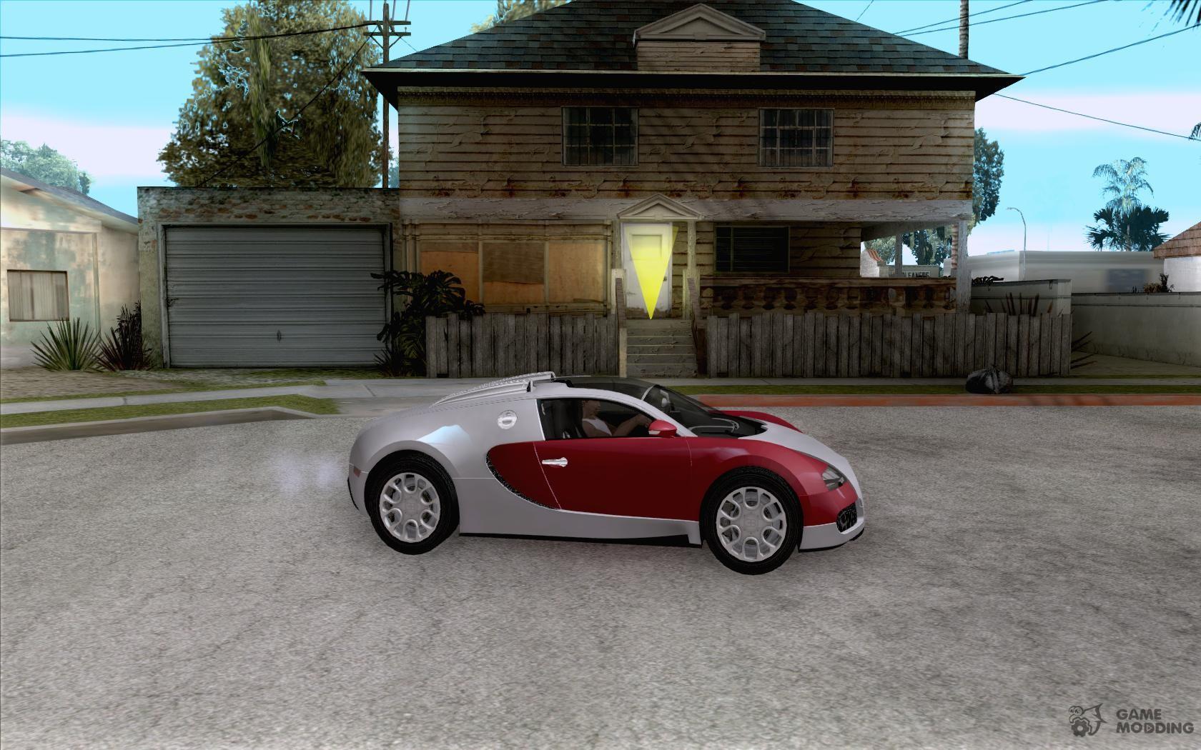 bugatti veyron gran sport 2011 for gta san andreas. Black Bedroom Furniture Sets. Home Design Ideas