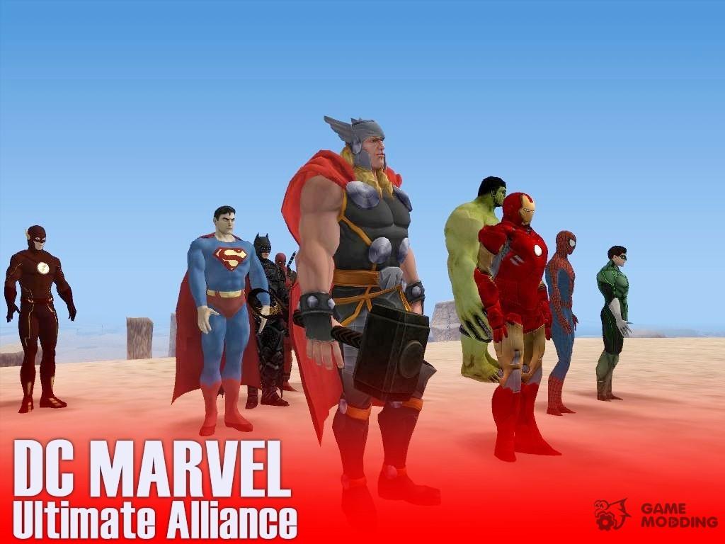 GTA San Andreas Iron Man - Marvel Ultimate Alliance 2 Mod