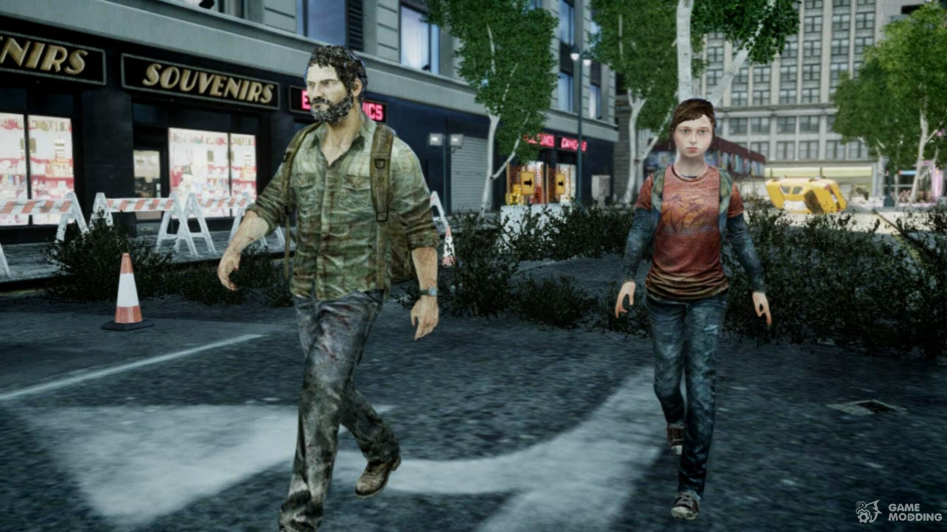 from The last of us for GTA 4