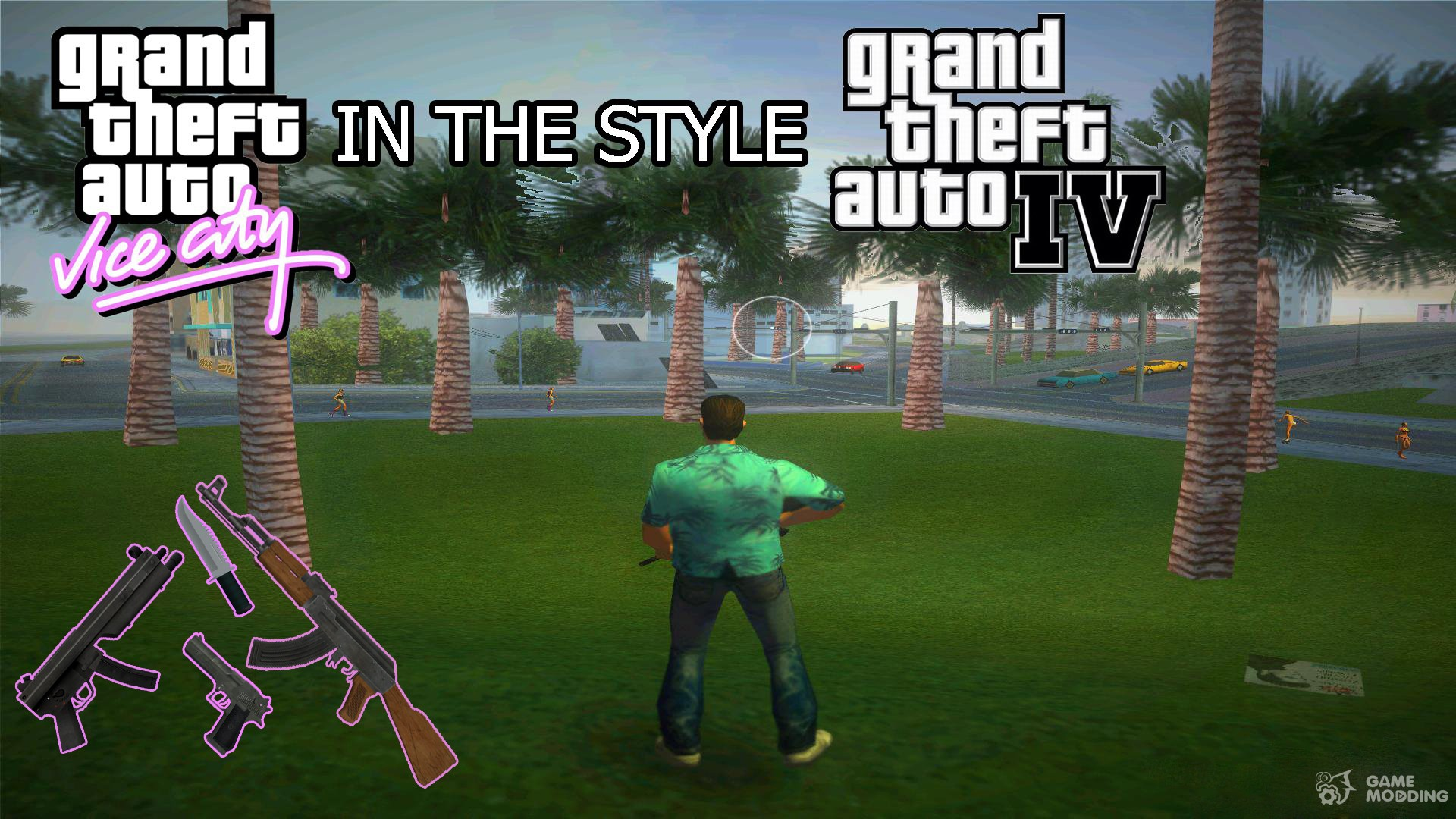 GTA 4 style for GTA Vice City