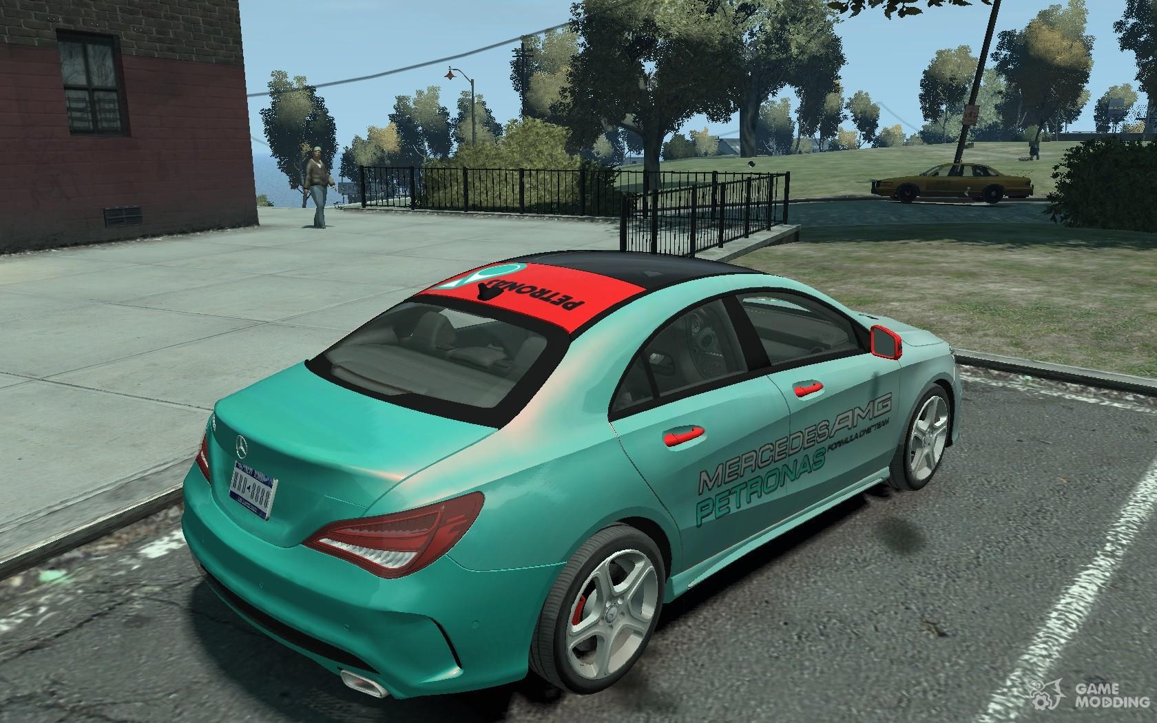 Mercedes benz 250 cla 2014 for gta 4 for Mercedes benz games
