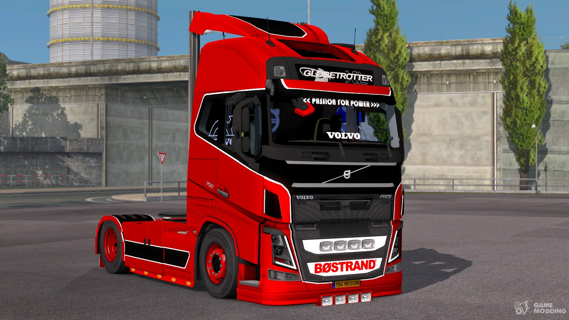 tuning for volvo fh 2013 for euro truck simulator 2. Black Bedroom Furniture Sets. Home Design Ideas