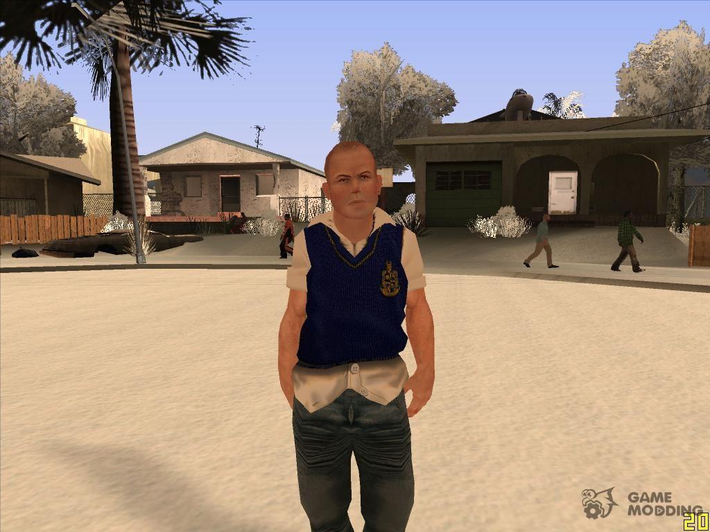 Skin Hd Jimmy Hopkins Bully Para Gta San Andreas
