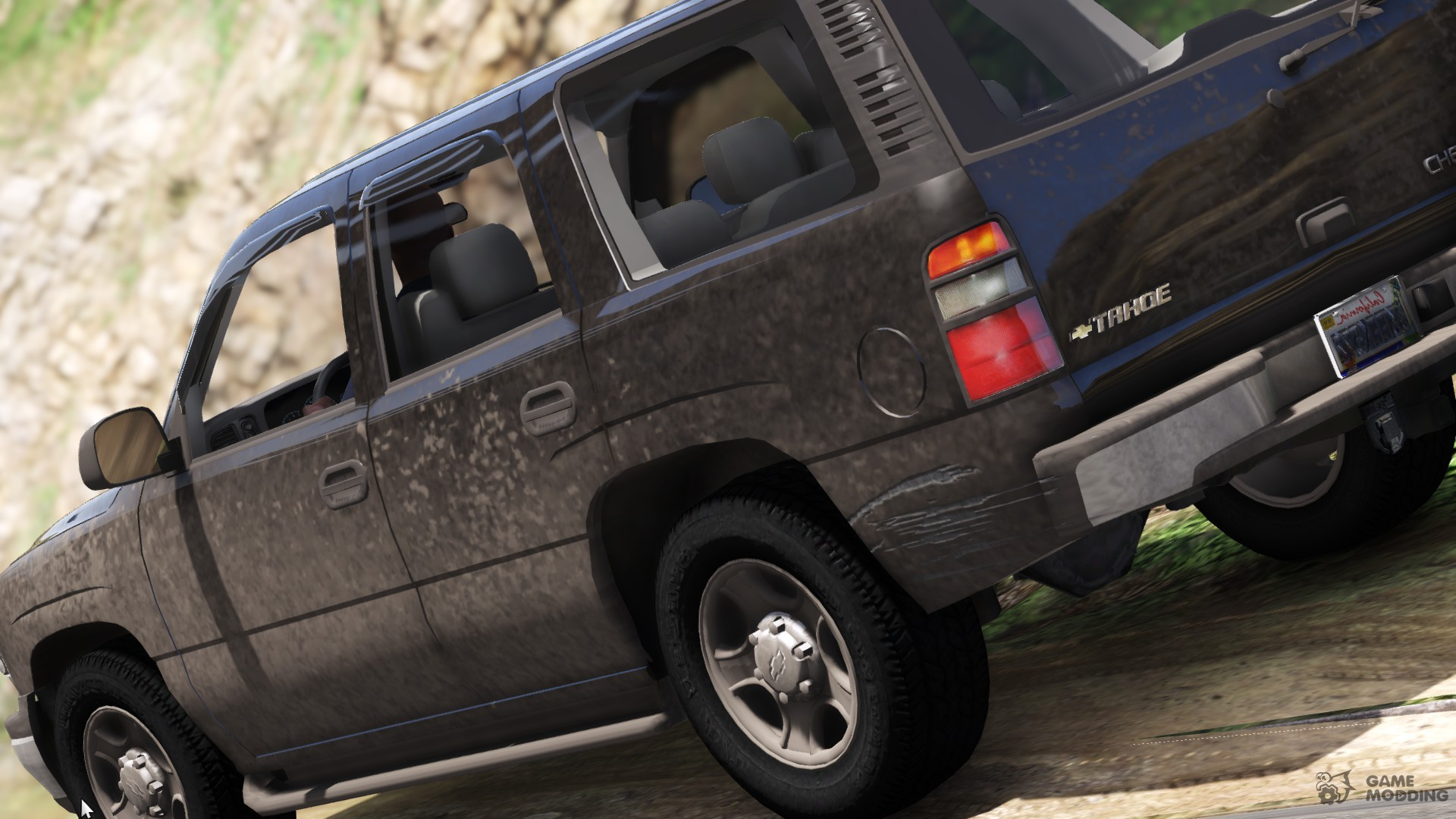 2006 chevy suburban for gta 5 top view