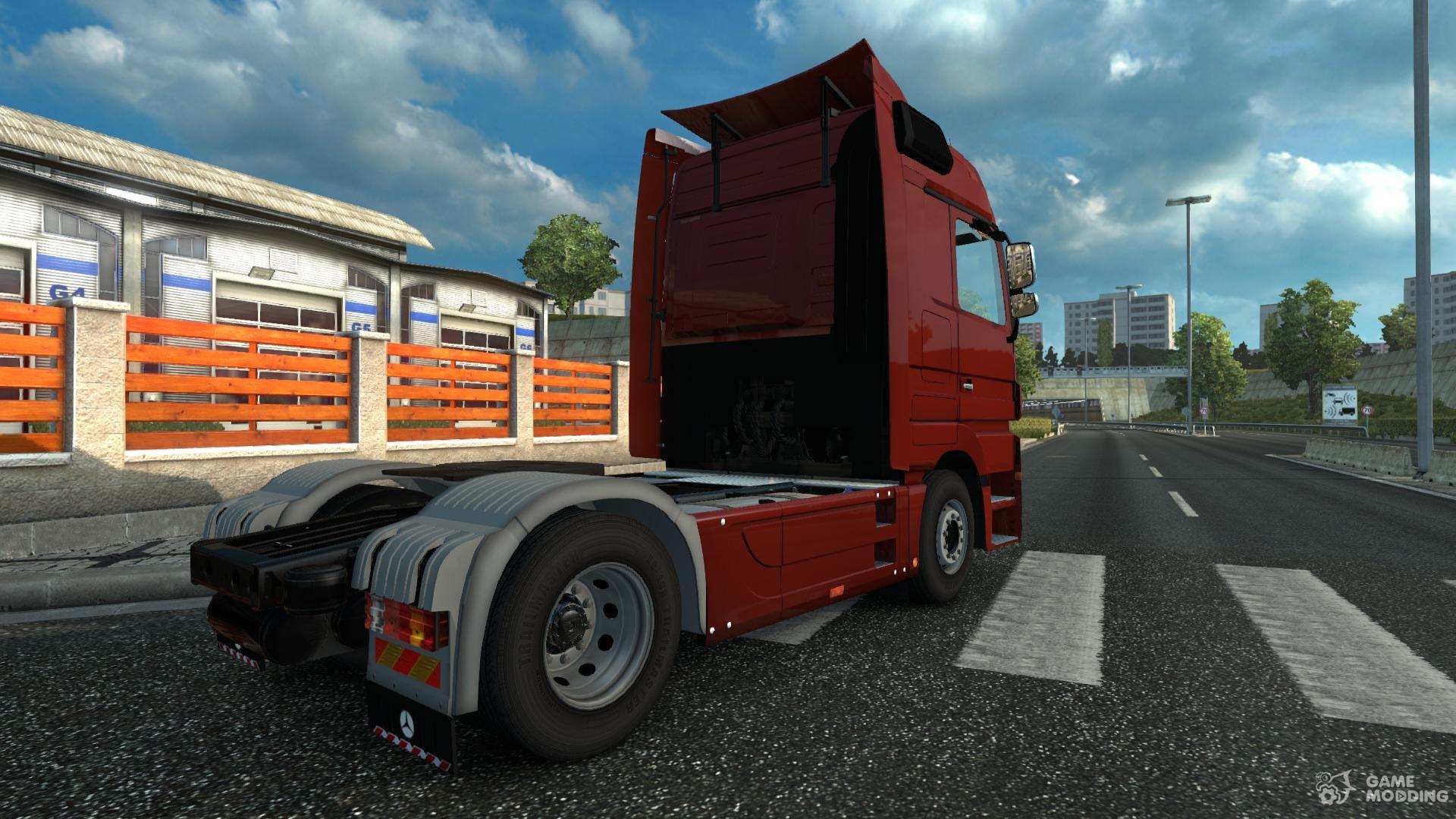 mercedes benz actros mp3 rework v 1 1 for euro truck. Black Bedroom Furniture Sets. Home Design Ideas