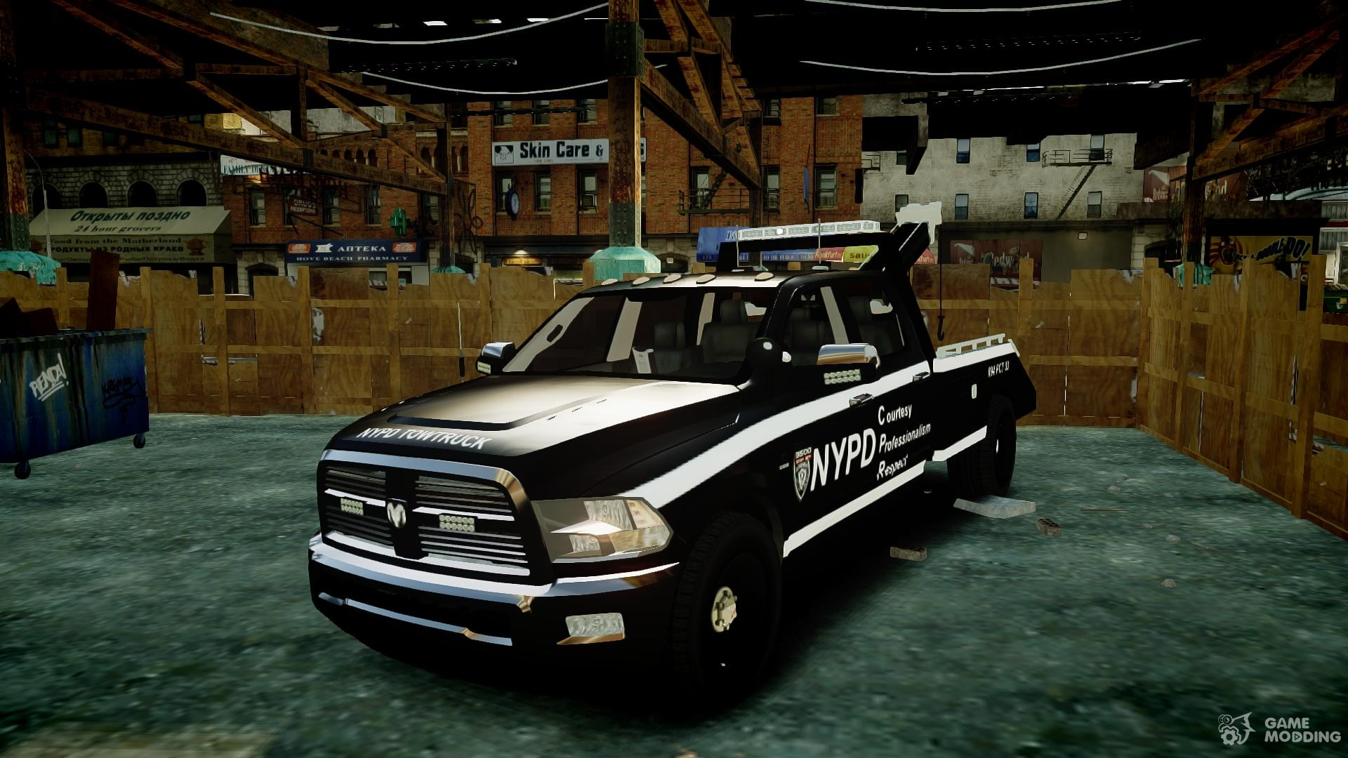 Dodge Ram 3500 NYPD for GTA 4