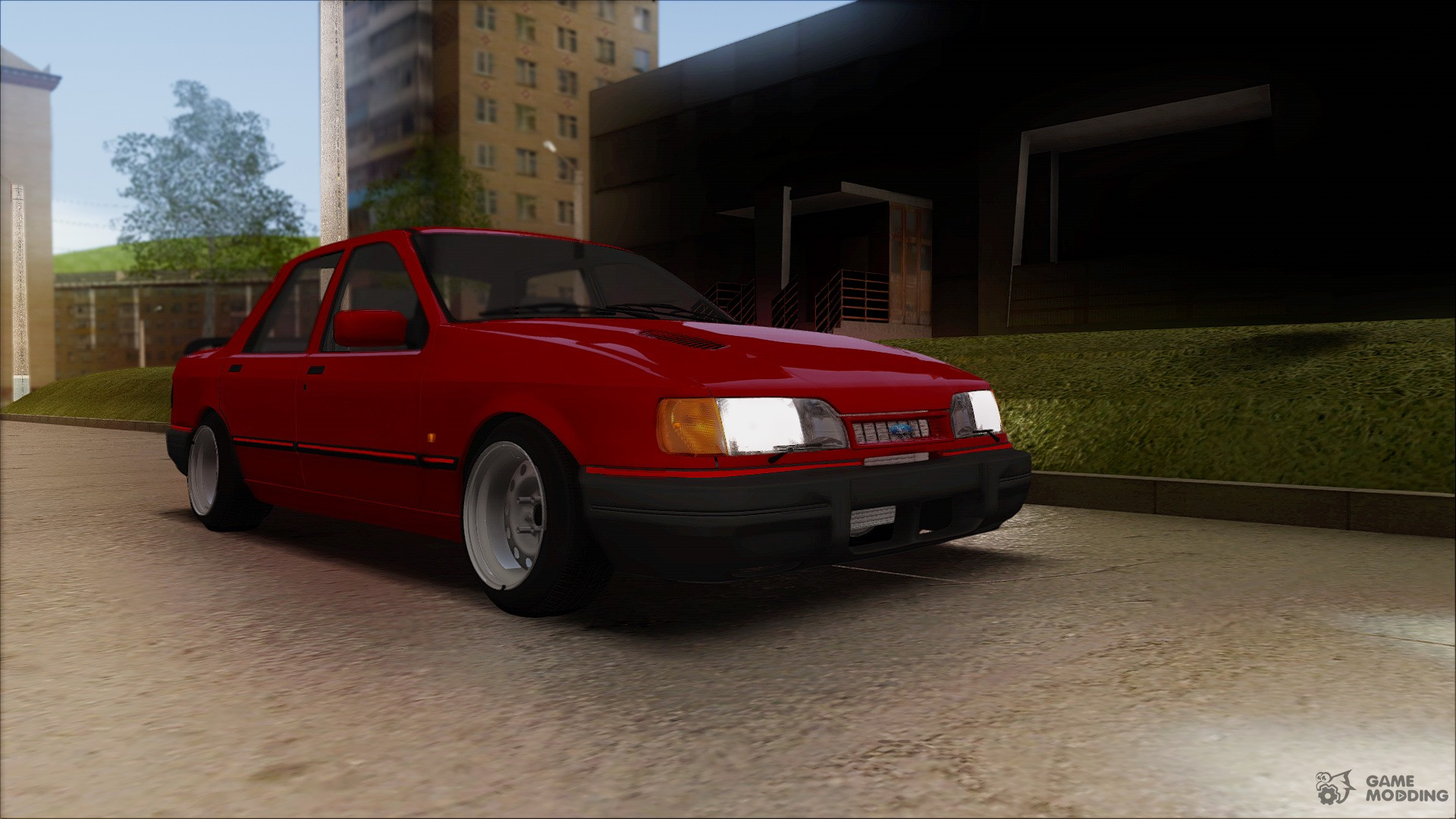 ford sierra sapphire rs cosworth for gta san andreas. Black Bedroom Furniture Sets. Home Design Ideas