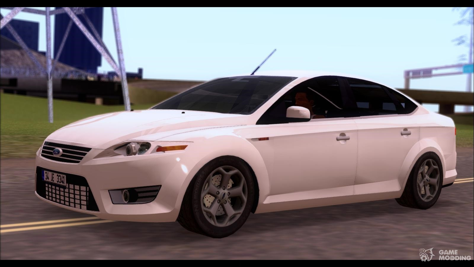 ford mondeo 2007 for gta san andreas. Black Bedroom Furniture Sets. Home Design Ideas