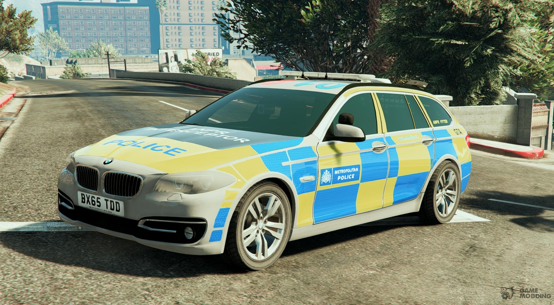met police bmw 525d f11 anpr interceptor 1 1 for gta 5. Black Bedroom Furniture Sets. Home Design Ideas