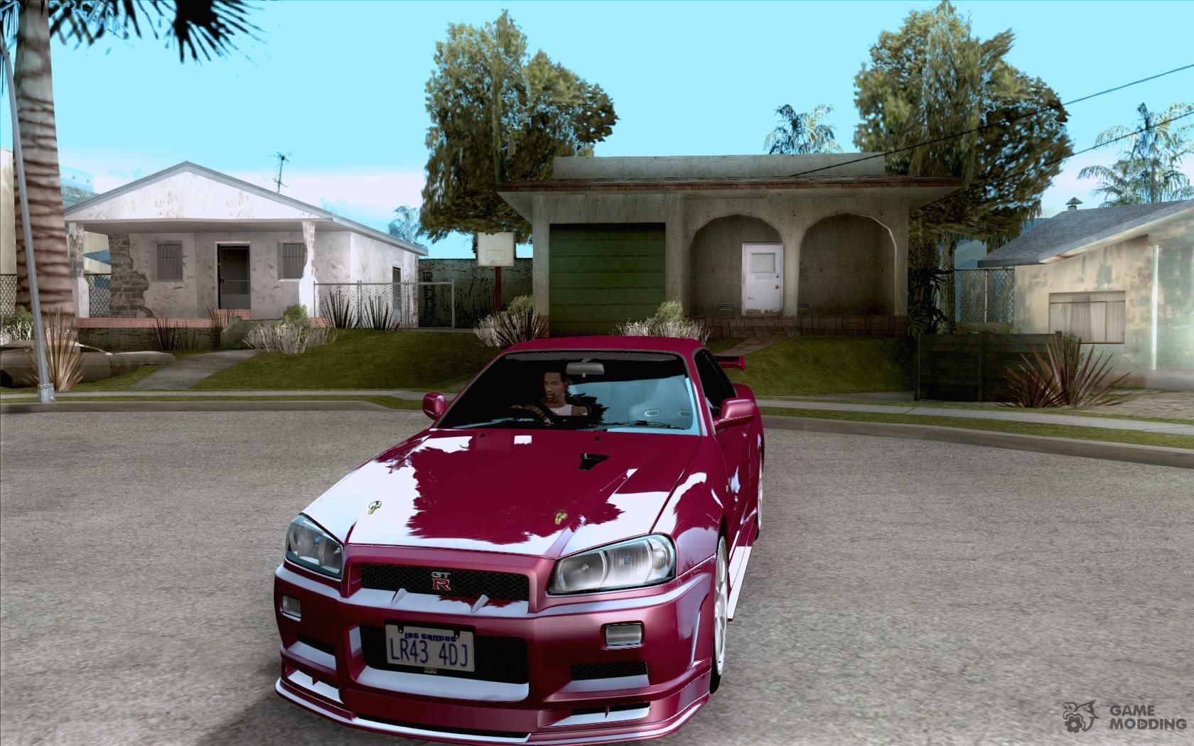 Nissan Skyline GT-R R34 M-spec Nur for GTA San Andreas