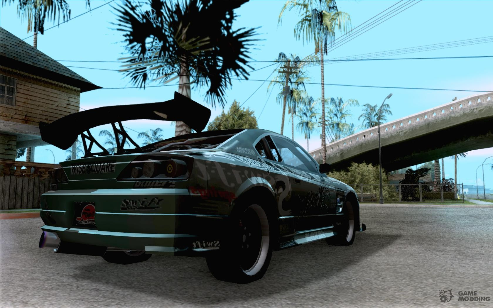 Nissan silvia s15 the fast and the furious 3 tokyo drift for gta