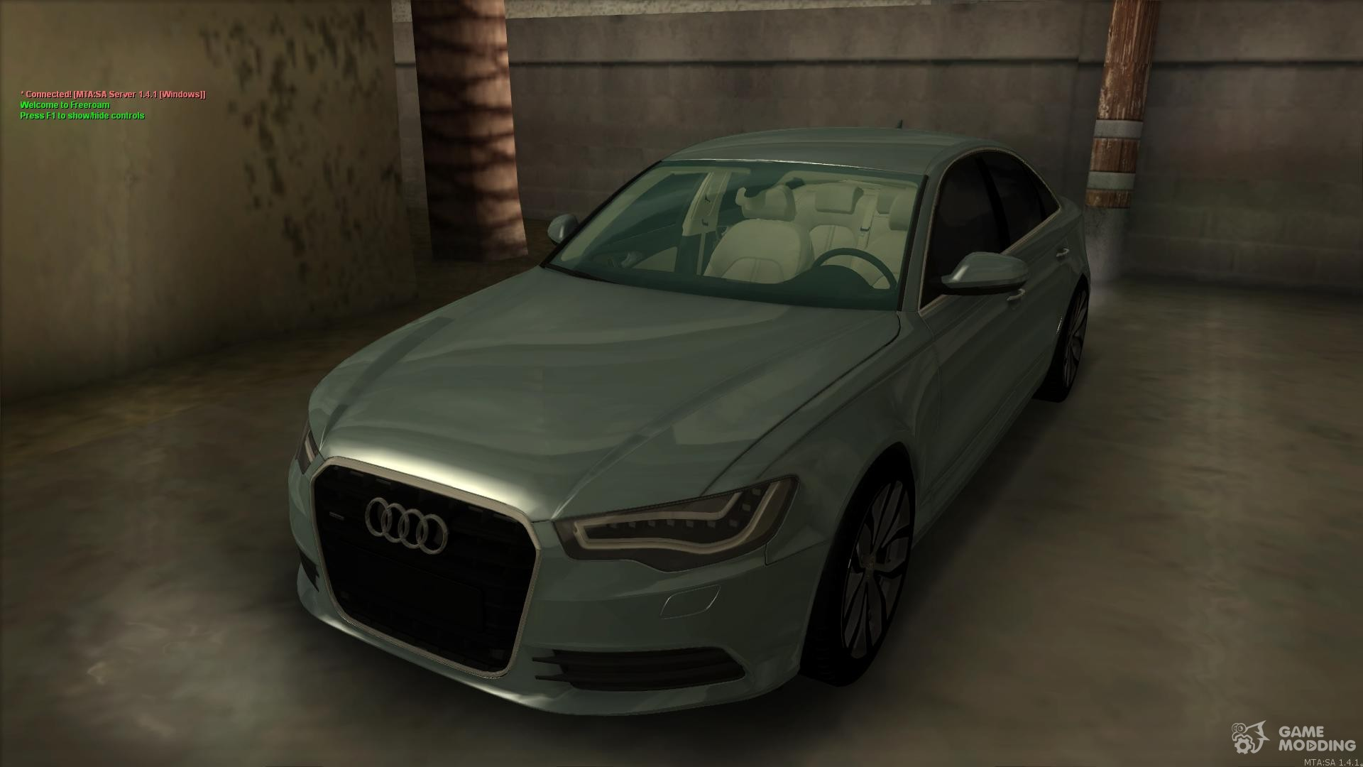 Audi A6 C7 Para Gta San Andreas